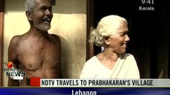 Video : NDTV travels to Prabhakaran's village