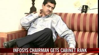 Video : Nilekani relinquishes Infosys board post