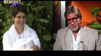 Video : Amitabh talks about happier times with Gandhi family
