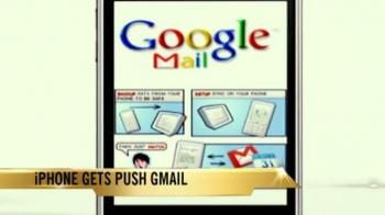 Video : iPhone gets push Gmail