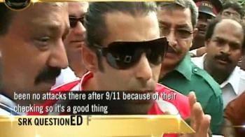 Video : Security checks no big deal: Salman