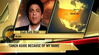 Video : SRK on his airport nightmare