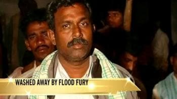 Video : Andhra: Washed away by floods