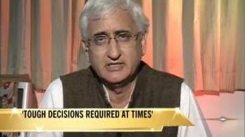 Video : Should have dismissed Kalyan govt: Salman Khurshid