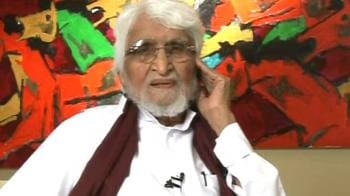Video : MF Husain speaks exclusively to NDTV