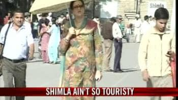 Video : Shimla under dry spell