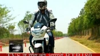 Video : Raftaar: Sneak peak of Apache RTR 180