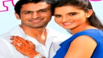 Video : Sania, Shoaib in Pak for 2nd reception