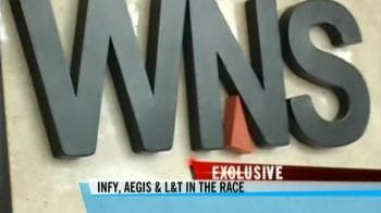 Video : Infy, Aegis and L&T in race for WNS