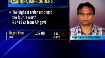 Video : Nagarjuna Cons wins orders worth Rs 797 cr
