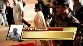 Video : Supreme Court stops another Mayawati park