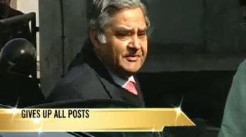 Video : A K Mattoo resigns as Hockey India president