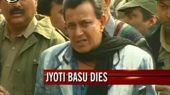 Video : We've lost greatest leader of the country: Mithun Chakraborty