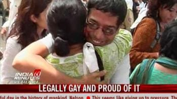 Video : Legally gay and proud of it
