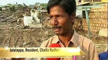 Video : A day in the life - flood refugees