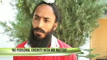 Video : No personal enmity with Mattoo: Rajpal