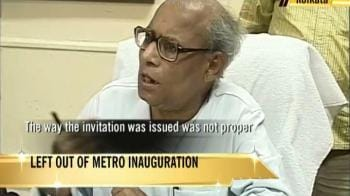 Video : Left won't ride Mamata's Metro