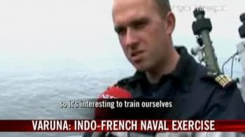 Video : Indian Navy sends fleet to France for joint exercise