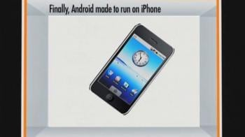 Video : Android made to run on iPhone