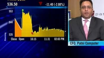 Video : Patni Q1 CY10 review