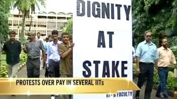 Video : IIT Bombay professors on protest leave