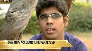 Video : Osmania: Academic life paralysed