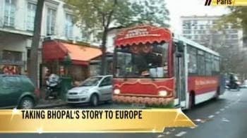Video : Taking Bhopal's story to Europe