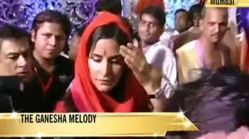 Video : Katrina's Ganpati prayers