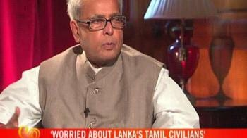 Video : India wants elections in Tamil areas