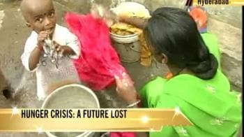 Video : Half of world's hungry live in India