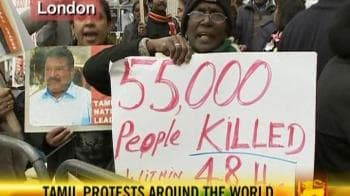 Video : Tamil protests around the world