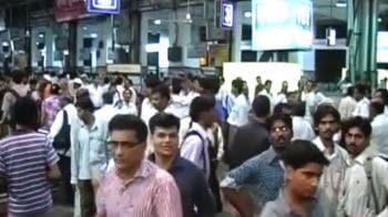 Video : Local trains hit by motormen strike in Mumbai