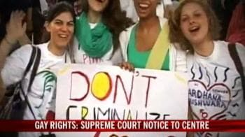 Video : Gay equality: SC gives Centre 11 days
