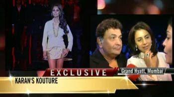 Video : Priyanka, Kareena, Saif cheer for SRK
