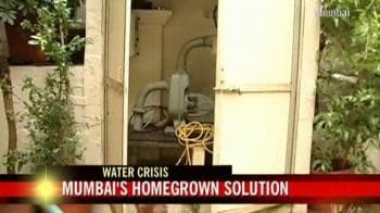 Video : Mumbai's homegrown solution to water crisis