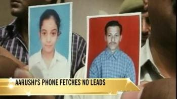 Video : Setback in Aarushi case, no clue from mobile