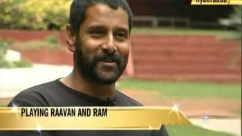 Video : Vikram brings together Ram-Raavan