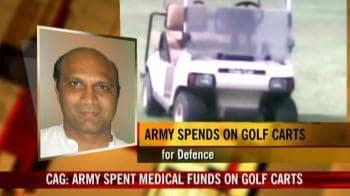 Video : Golf versus soldiers' welfare