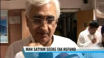 Video : Mahindra Satyam seeks refund of overpaid taxes