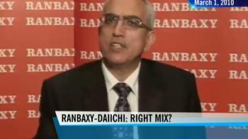 the merger of ranbaxy and daiichi Daiichi sankyo currently holds 634% in ranbaxy pursuant to the merger, daiichi sankyo will receive a stake of about 9% in the expanded sun pharma and will have the right to nominate one director to sun pharma's board of directors.