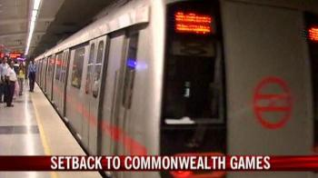 Video : Metro accident a setback for Games 2010?