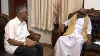 Video : NSA meets Karunanidhi