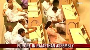 Video : Furore in Rajasthan Assembly