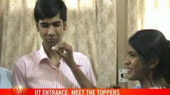 Video : IIT entrance: Meet the toppers