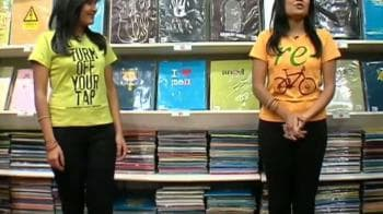 Video : Go green with eco-friendly Tees