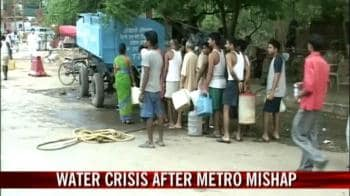 Video : Water crisis after Metro mishap