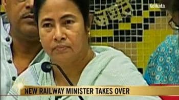Video : Mamata takes charge