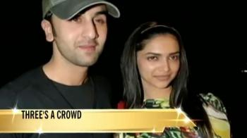 Video : Deepika, Ranbir, Katrina: A love triangle?