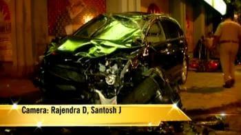 Video : Drunk woman driver kills two