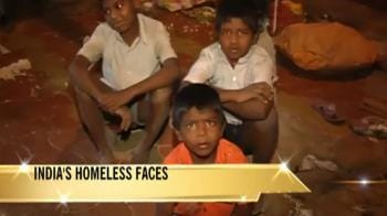 Video : India's homeless faces